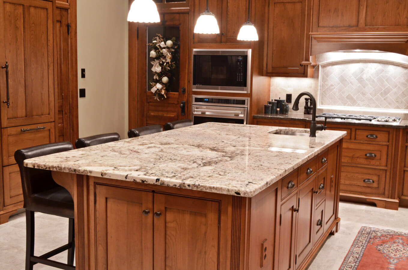 Custom Countertops Installation